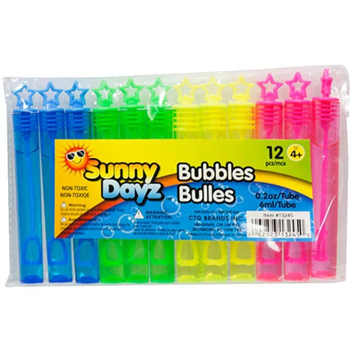SUNNY DAYZ:Bubble Sticks Party Pack - 12 Pack