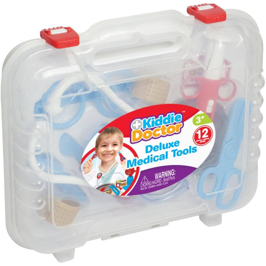 FAMOUS TOYS:Medical Kit Playset - 12 Pieces