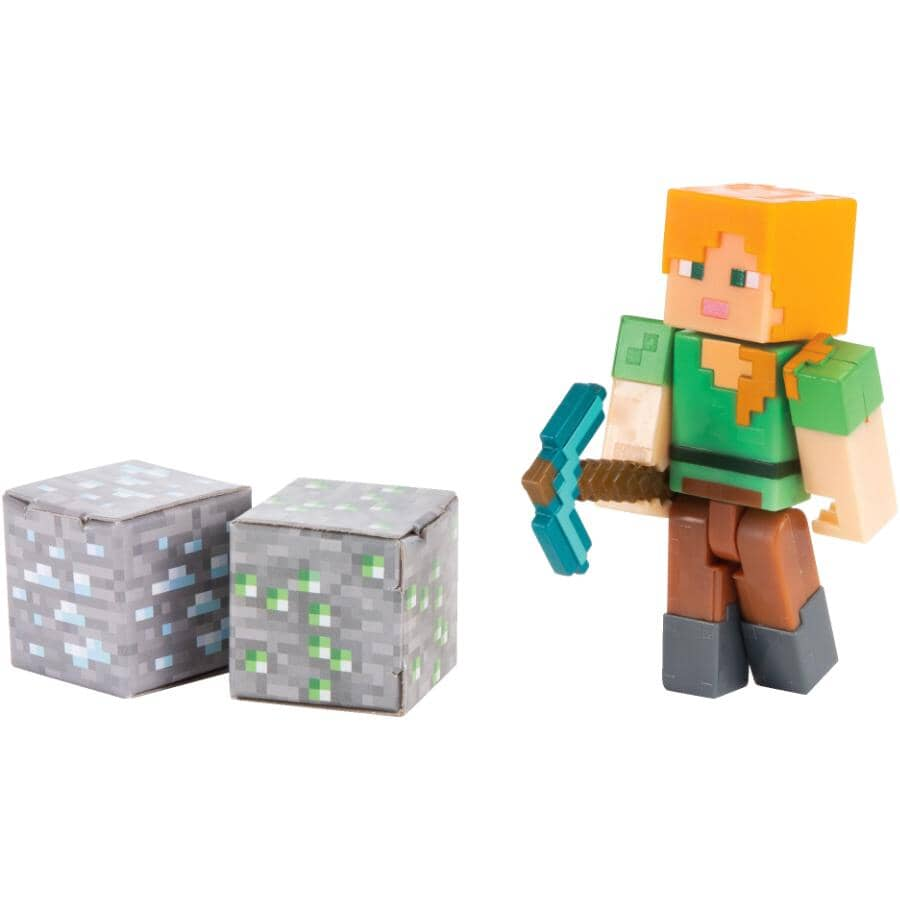 MATTEL:Minecraft Core Mini Figure - Assorted Figures