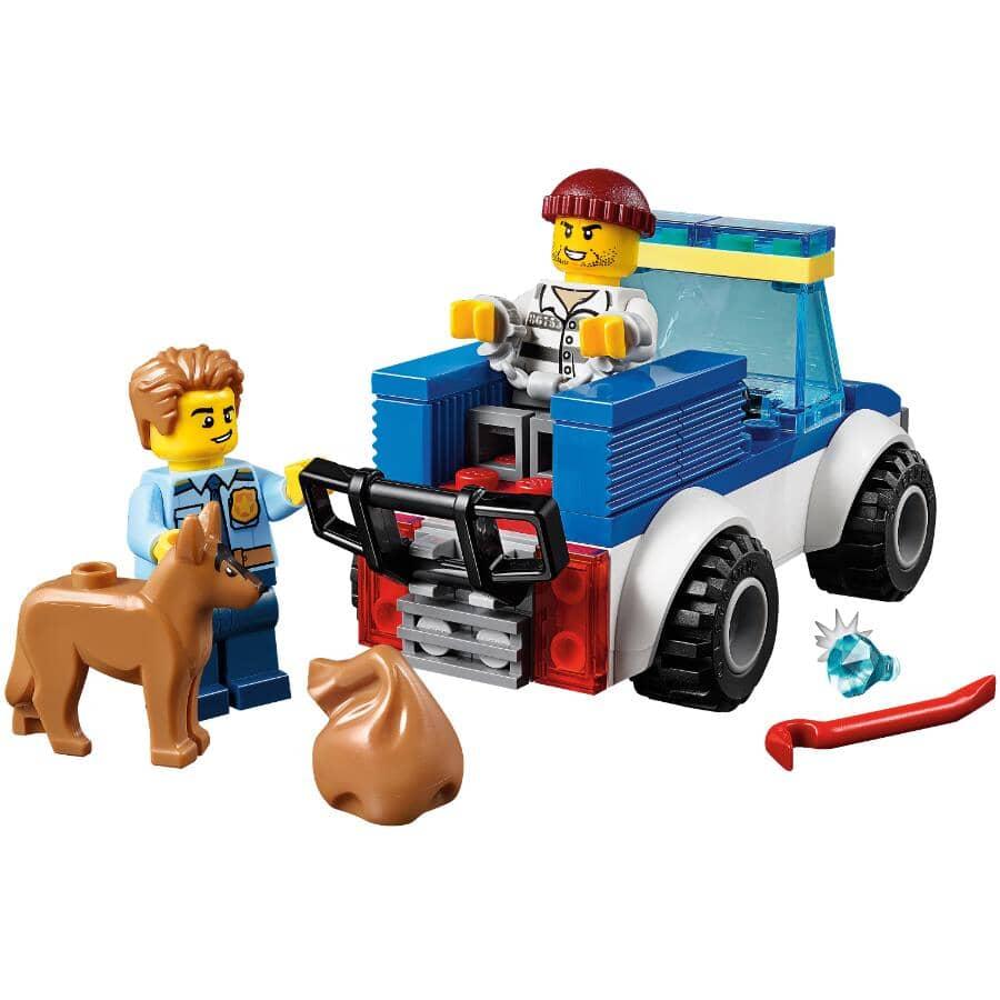 LEGO:Jeu de la collection City, L'unité cynophile de la police