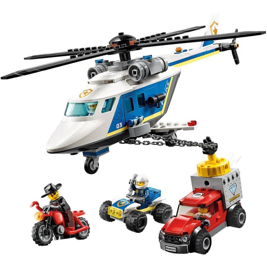 LEGO:Jeu de la collection City, L'arrestation en hélicoptère