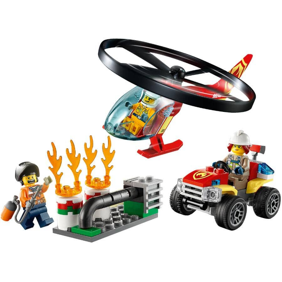 LEGO:Fire Helicopter Response - City Collection