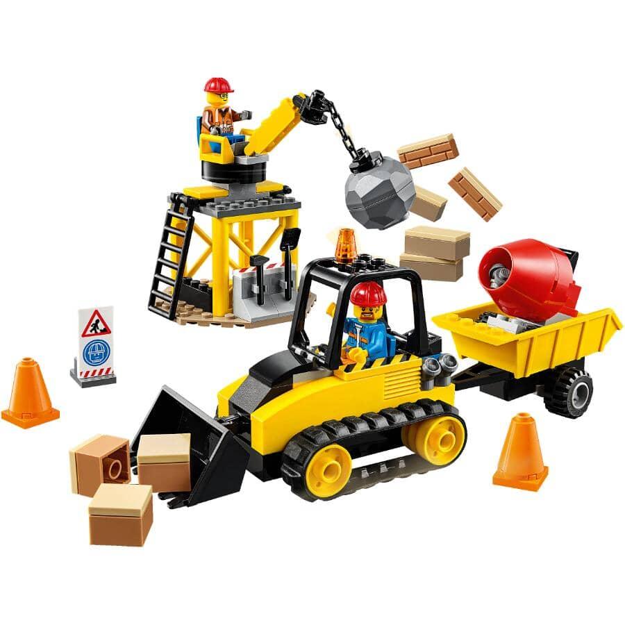 LEGO:Jeu de la collection City, Le chantier de construction, super véhicules