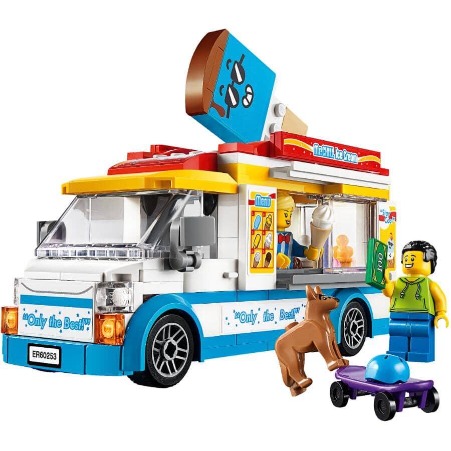 LEGO:Jeu de la collection City, Camion de crème glacée, super véhicules