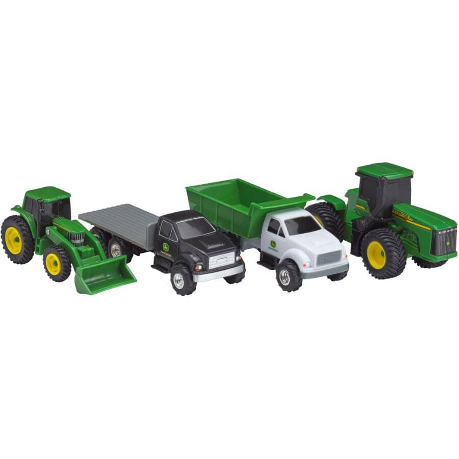 TOMY:4 Piece Vehicle Playset, Assorted Styles