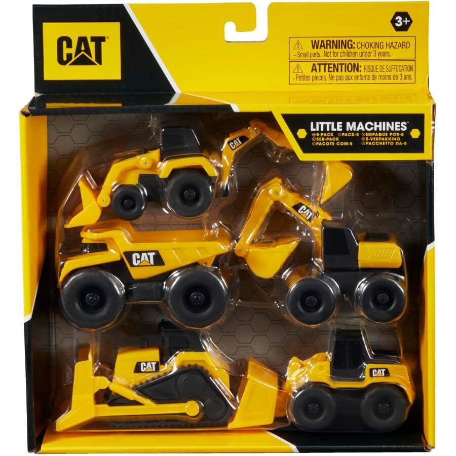 FUNRISE:CAT Little Machines Construction Vehicles - 5 Pack