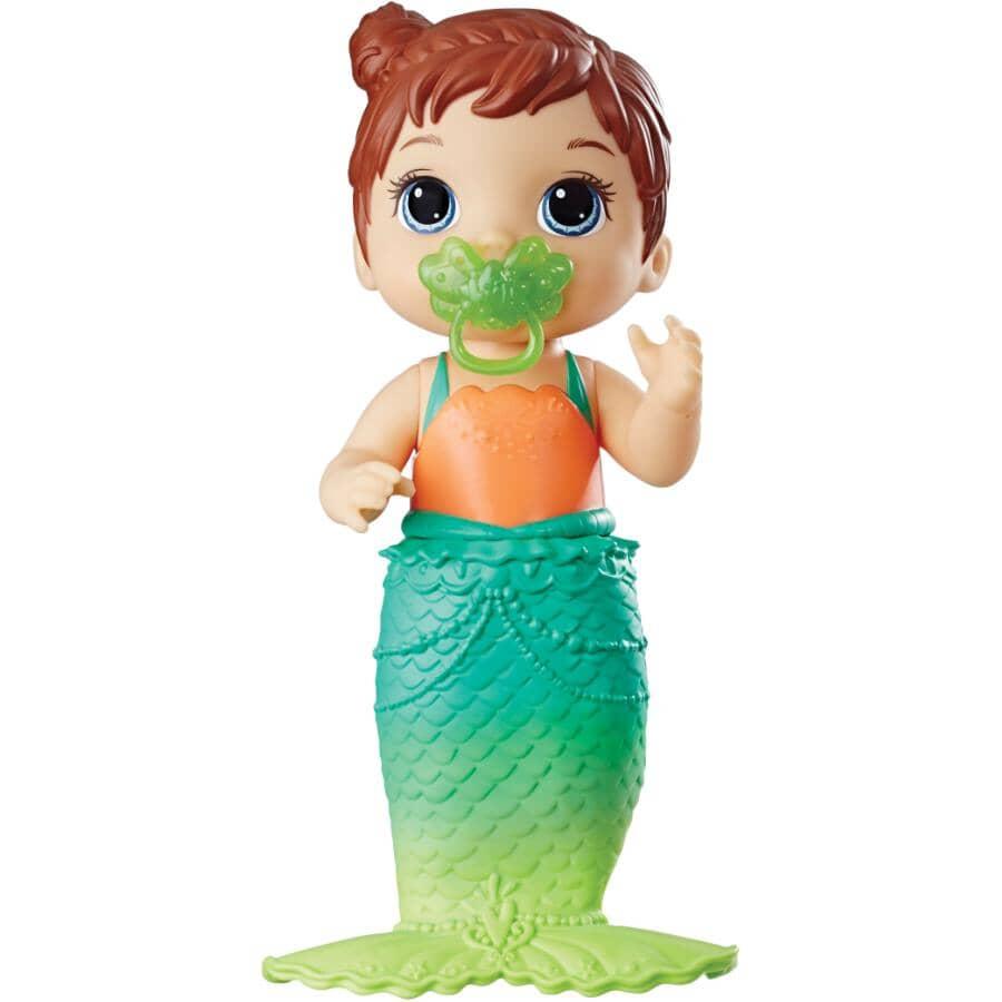 HASBRO:Baby Alive Lil Splashes Mermaid Doll, Assorted Models