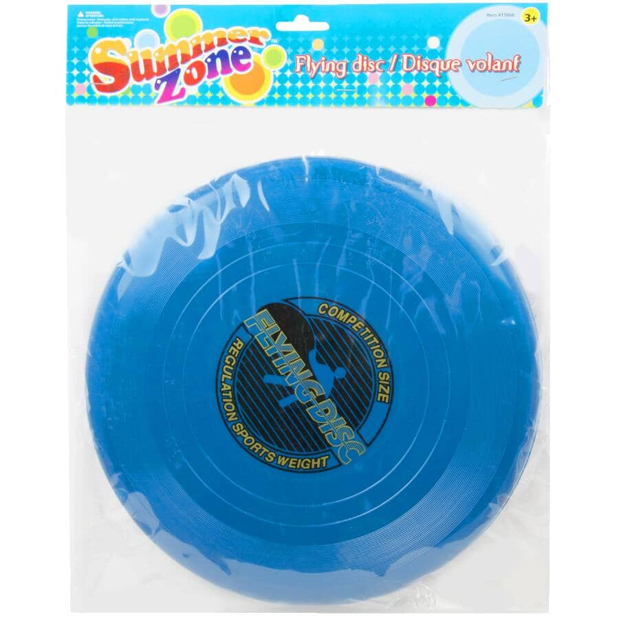 """SUMMER ZONE:11"""" Professional Flying Disc - Assorted Colours"""