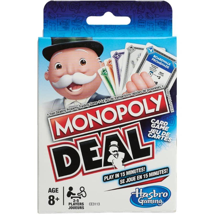 HASBRO:Monopoly Deal Card Game