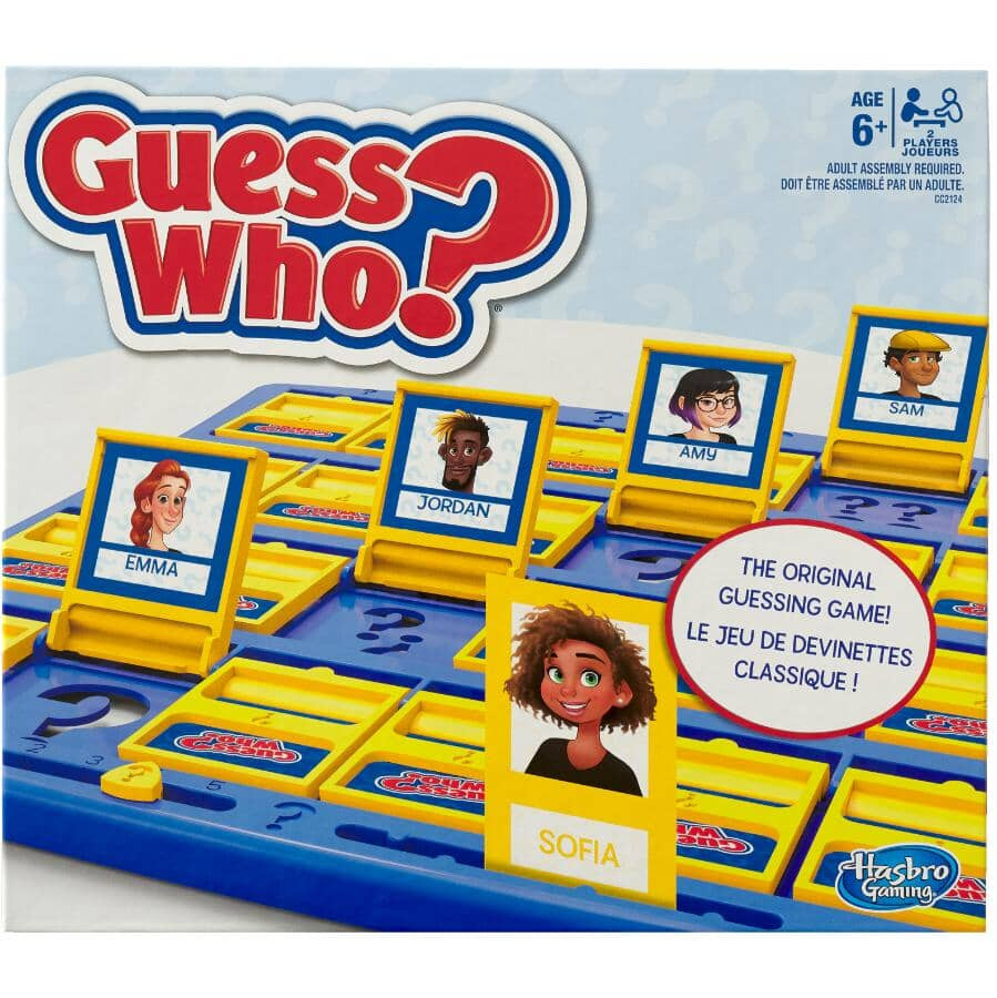HASBRO:Guess Who Game