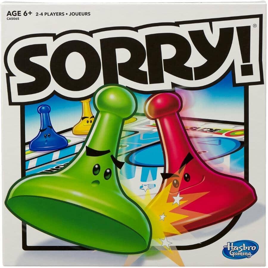 HASBRO:Sorry Board Game