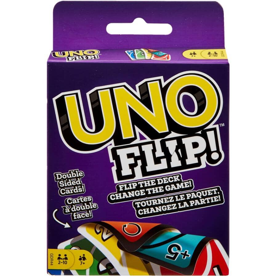MATTEL:UNO Flip! Double-Sided Card Game