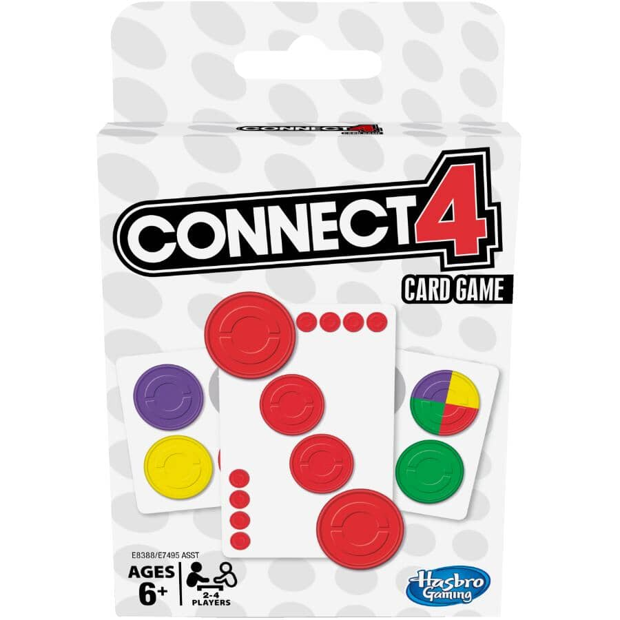 HASBRO:Connect 4 Card Game