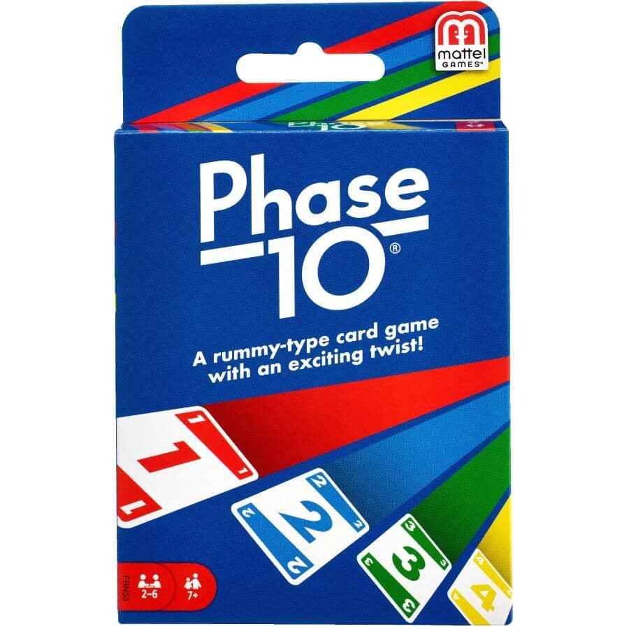 MATTEL:Phase 10 Card Game