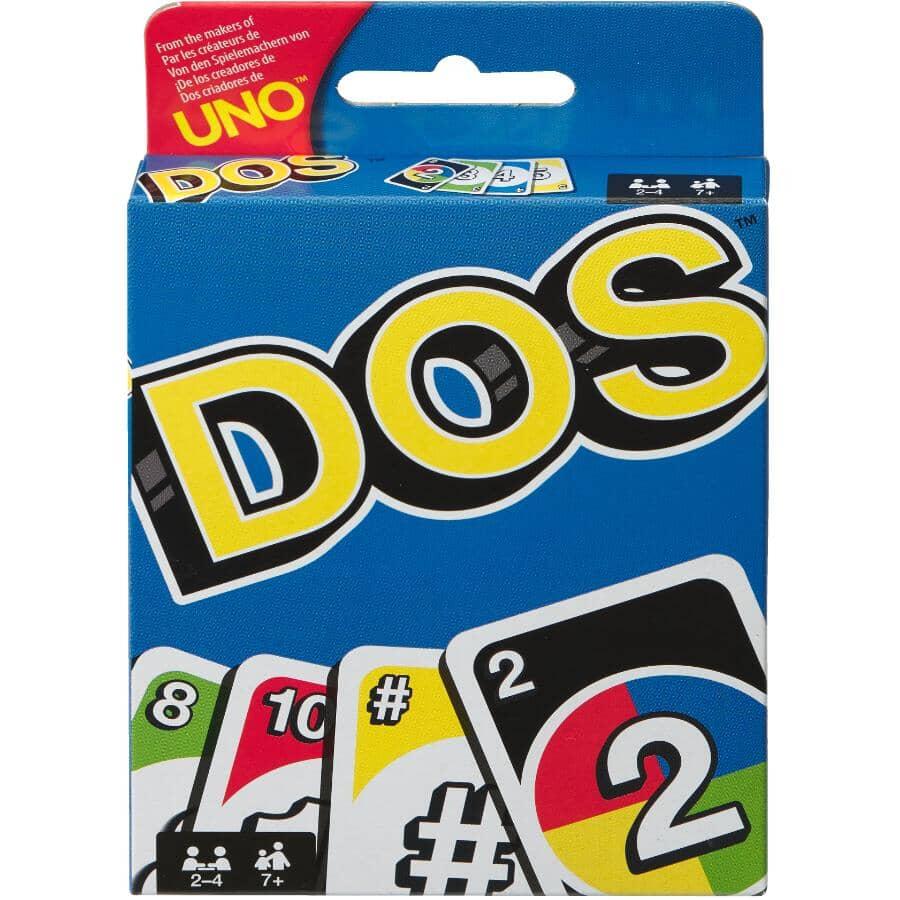 MATTEL:Dos Card Game