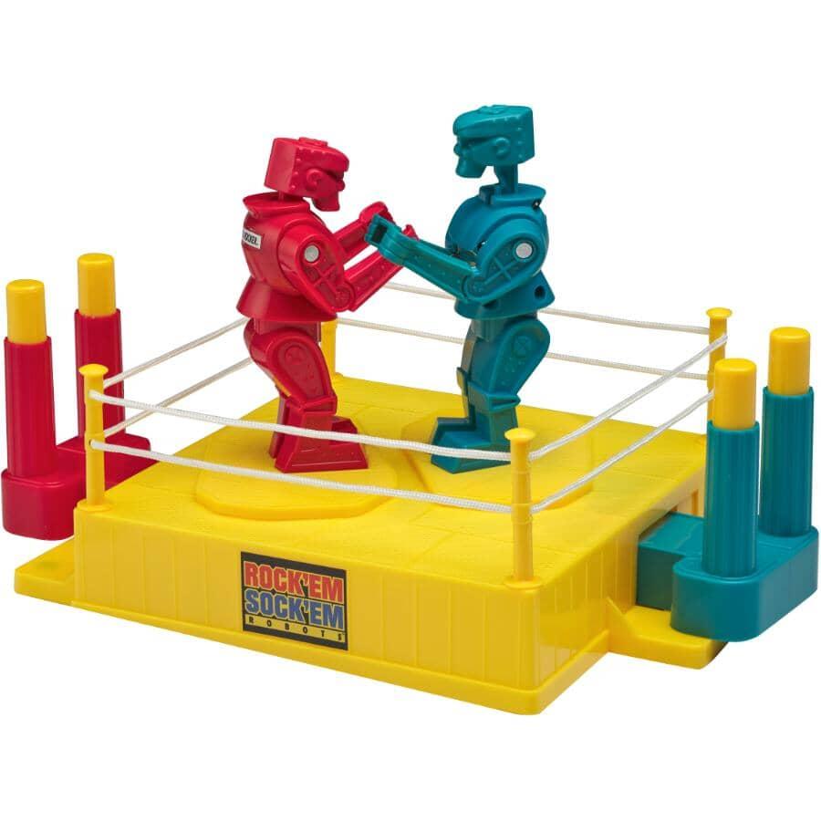 MATTEL:Rock 'Em Sock 'Em Robots Boxing Game