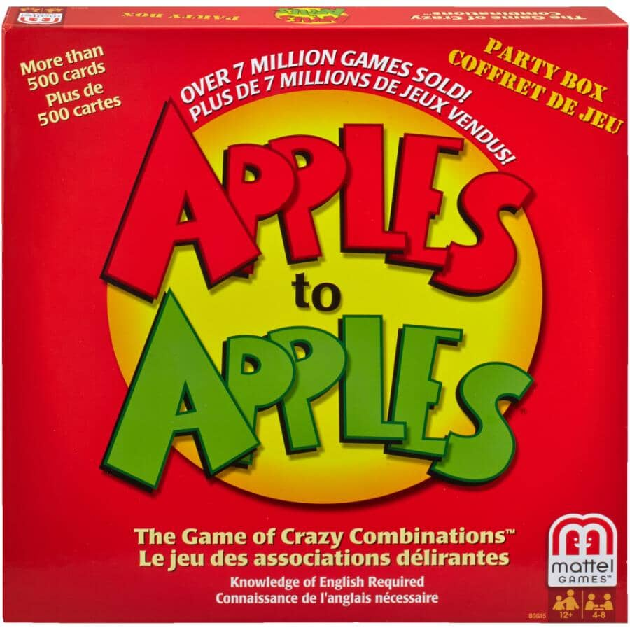 MATTEL:Apples to Apples Party Box Game