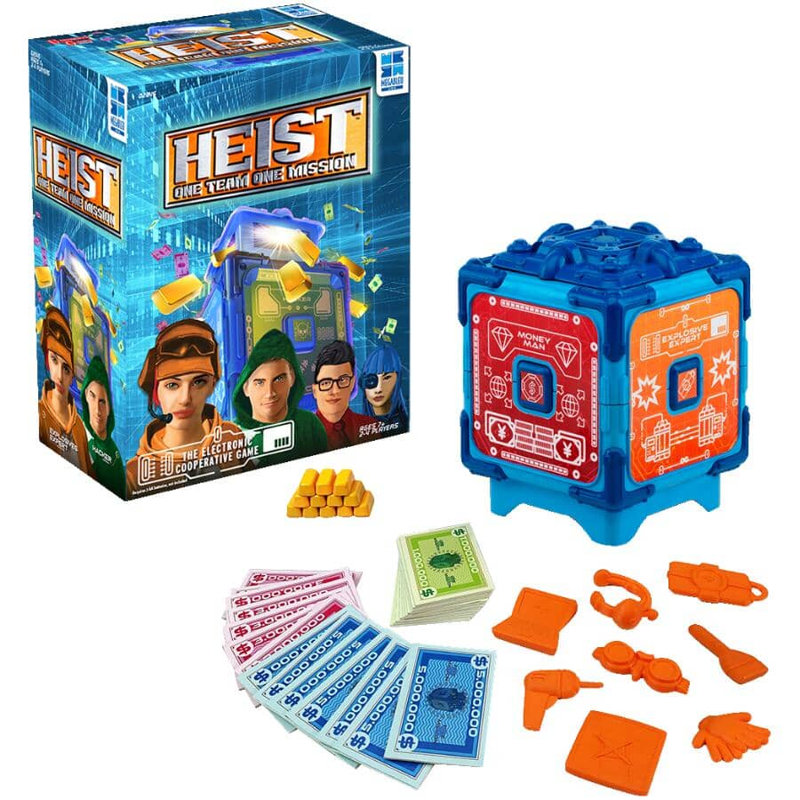 UNIVERSITY GAMES:HEIST Card Game