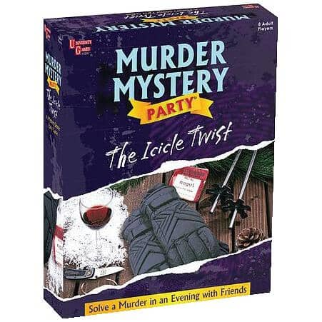 UNIVERSITY GAMES:Murder Mystery The Icicle Twist Adult Game