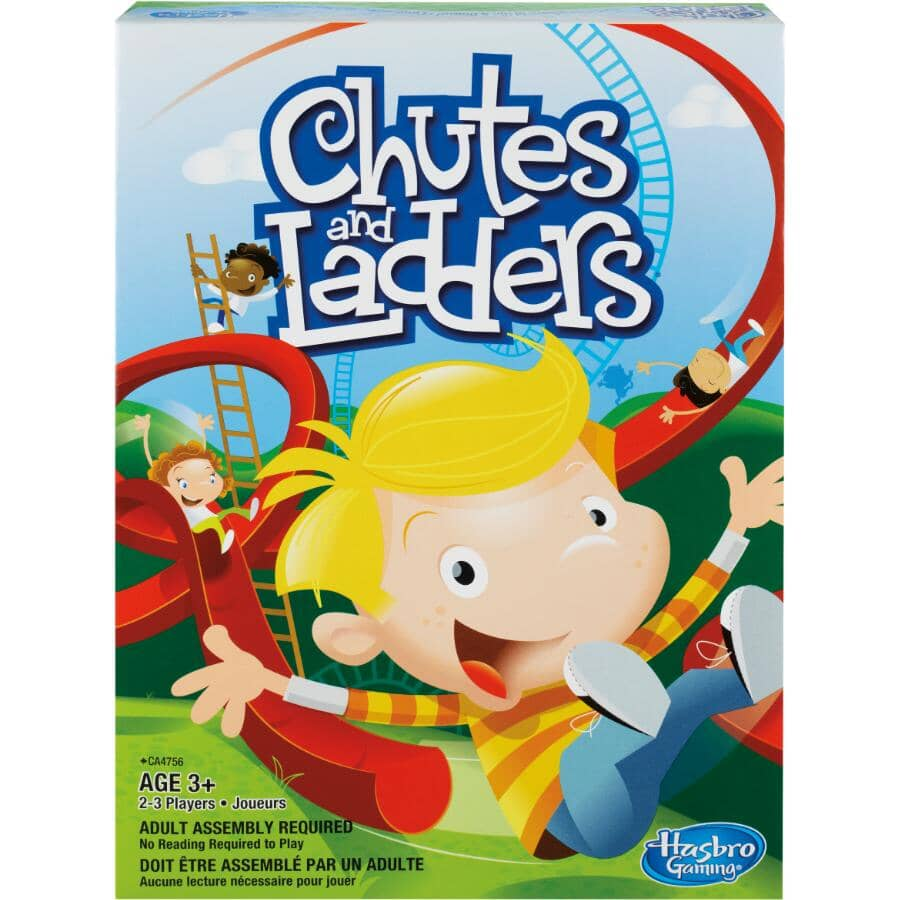 HASBRO:Chutes and Ladders Board Game