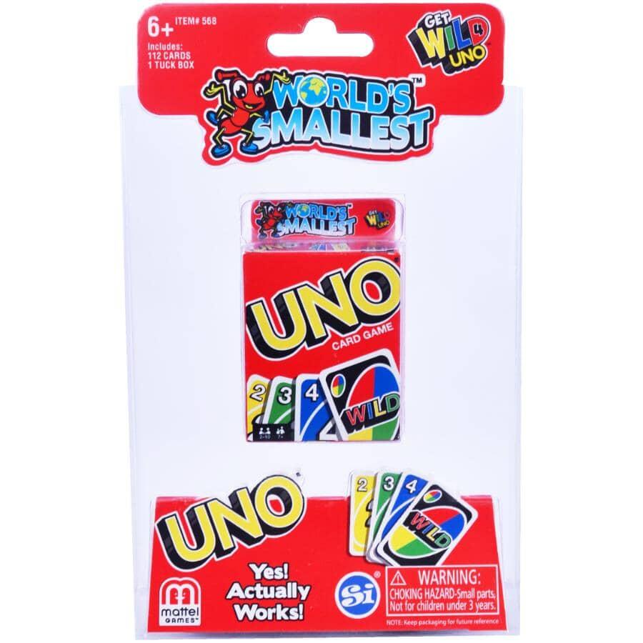 MATTEL:World's Smallest Uno Card Game