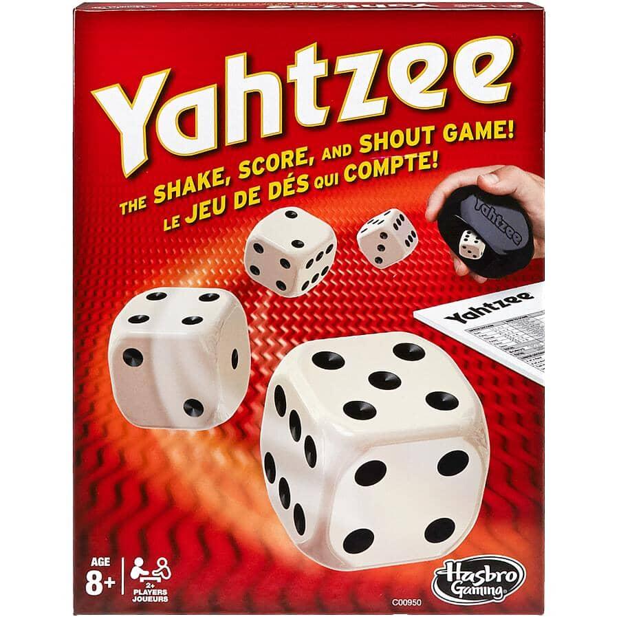 HASBRO:Regular Yahtzee Game