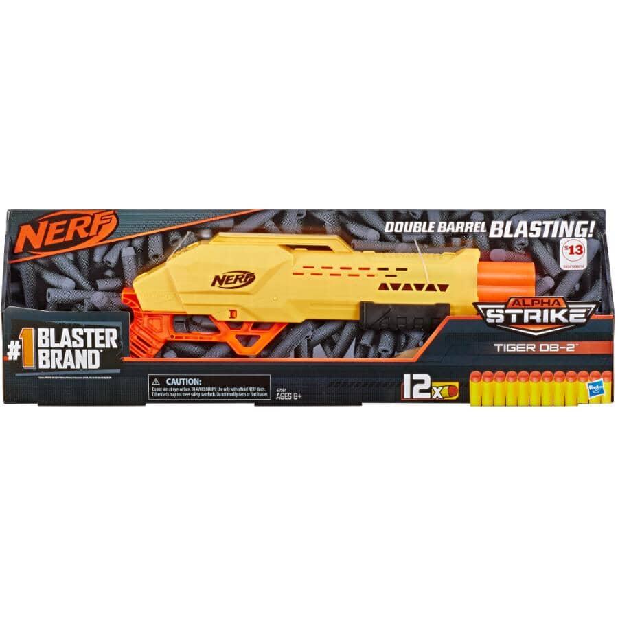 HASBRO:Nerf Alpha Strike Tiger DB-2 Blaster