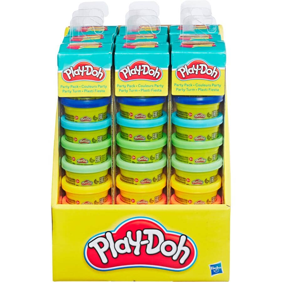 HASBRO:10 Pack Party Pack Play-Doh