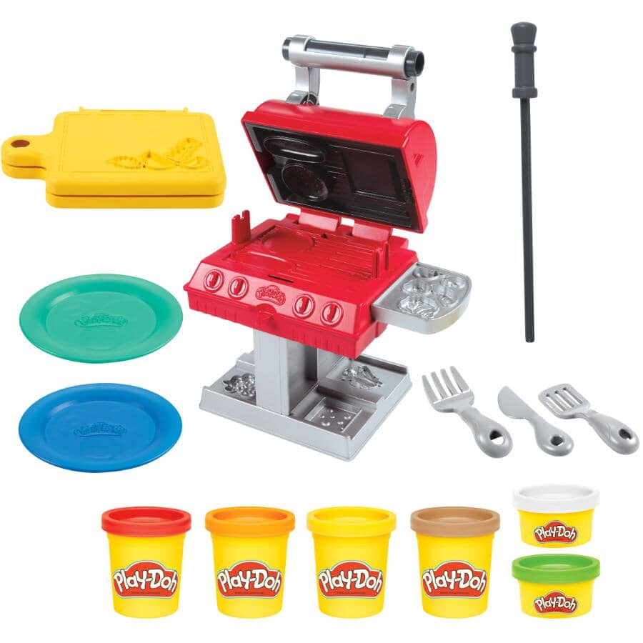 HASBRO:Grill 'n Stamp Play-Doh Playset