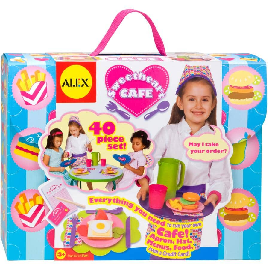 ALEX:Sweetheart Cafe Food Playset