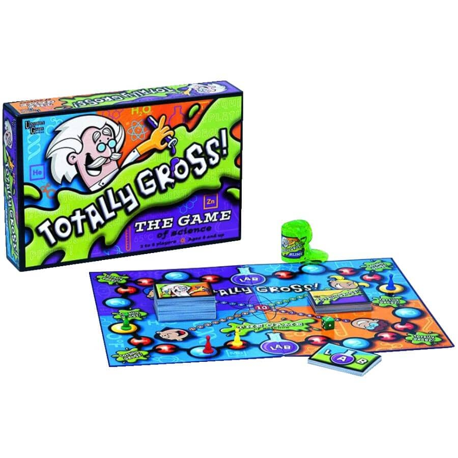 UNIVERSITY GAMES:Totally Gross Science Card Game