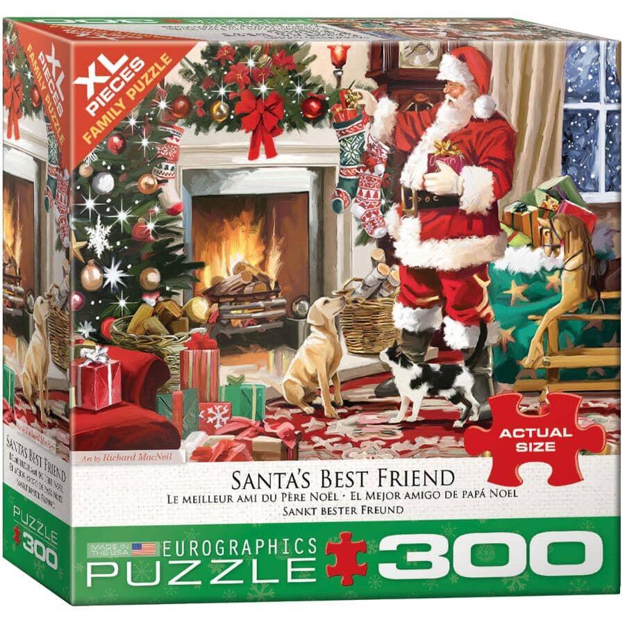 EUROGRAPHICS:300 Piece Santa's Best Friend Kids Puzzle