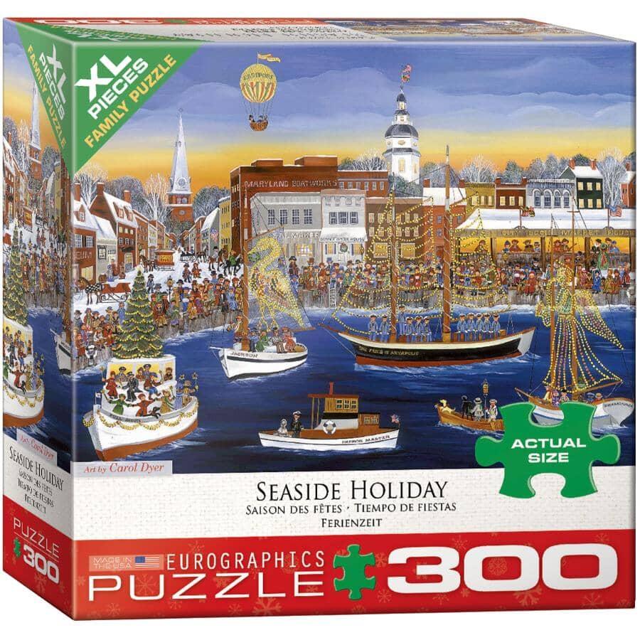 EUROGRAPHICS:300 Piece Seaside Holiday Kids Puzzle