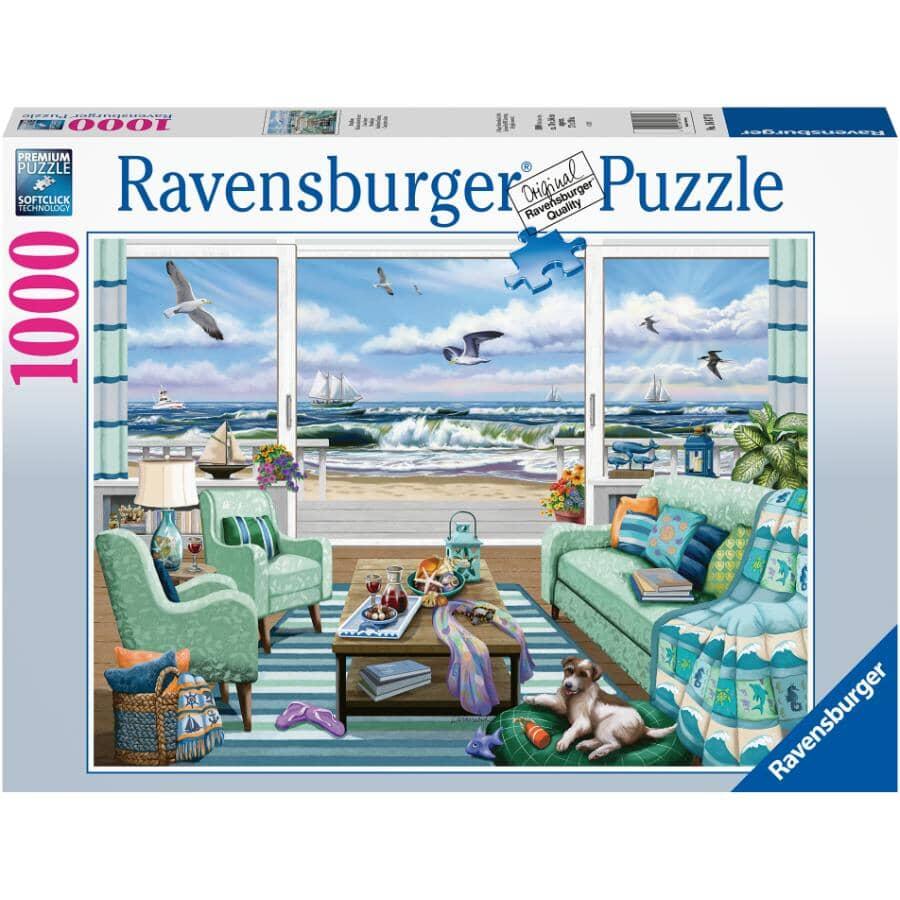 ALEX:1000 Piece Beachfront Puzzle