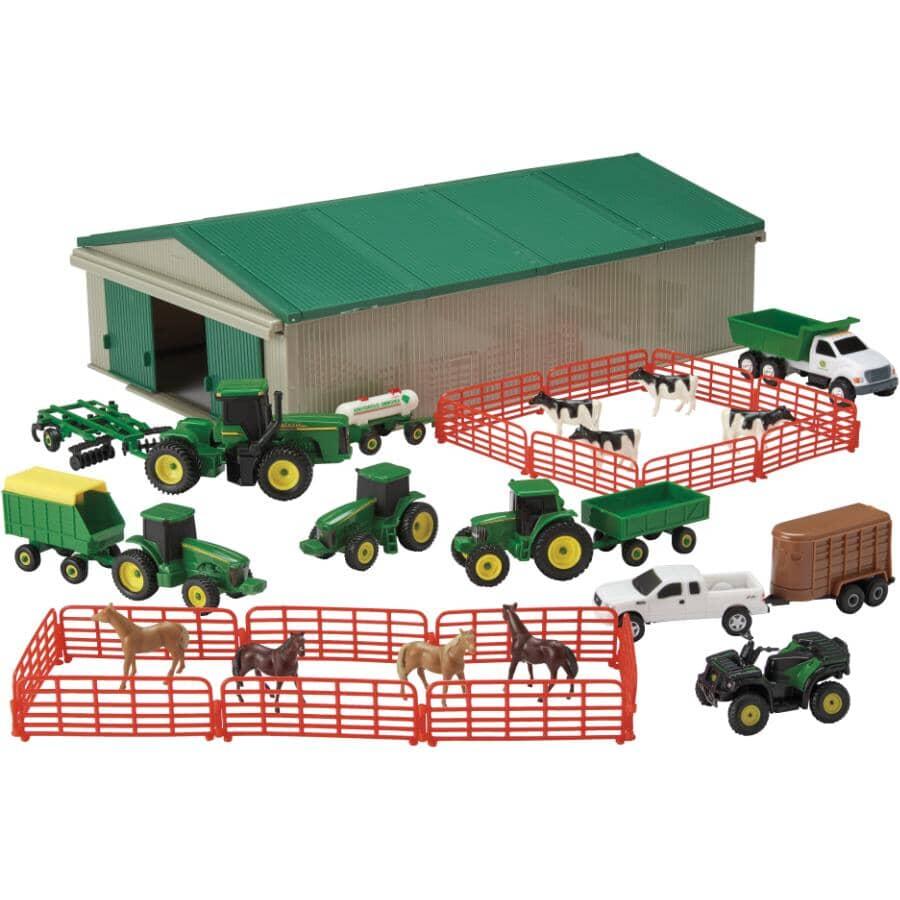TOMY:70 Piece John Deere Farm Playset