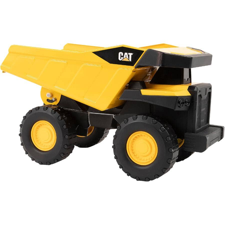 "FUNRISE:CAT Steel Dump Truck - 16"""