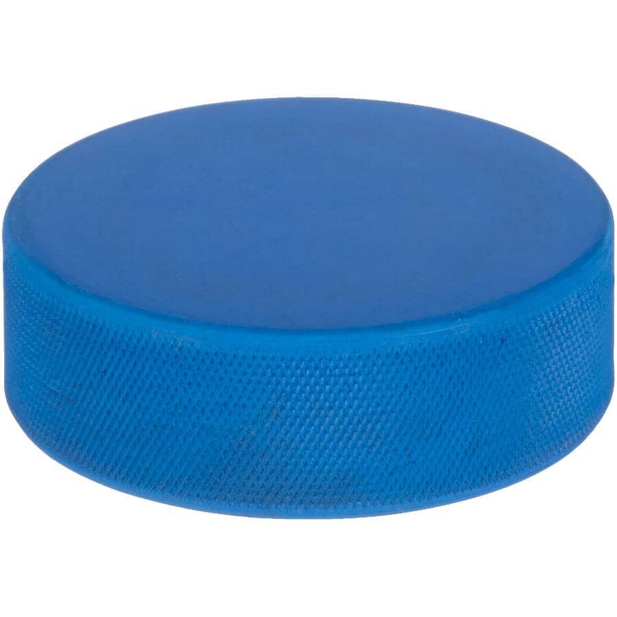 LINWOOD:Blue Lightweight Hockey Puck