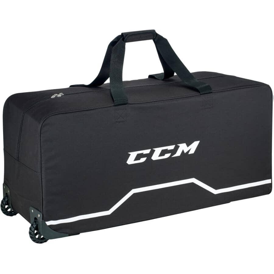 """CCM:38"""" 320 Senior Wheeled Black Hockey Bag"""
