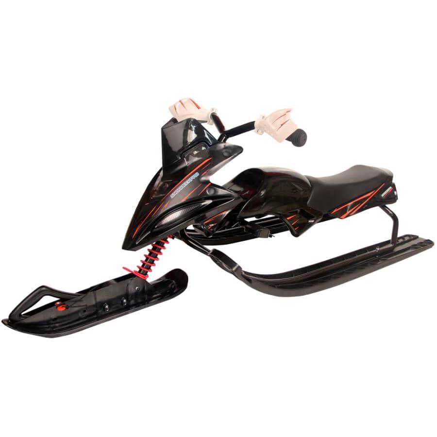 H2O:Luge Snow Racer Pro, rouge et noir