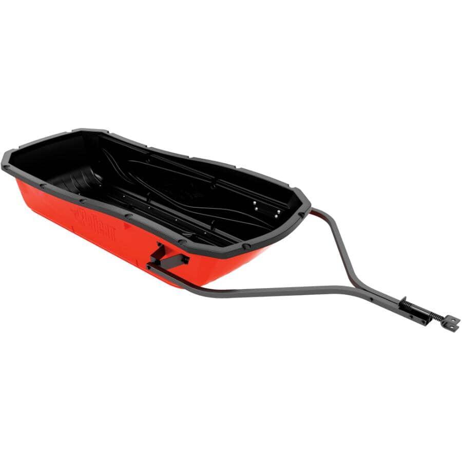 PELICAN:Red Trek Sport 75 Utility Snow Sled