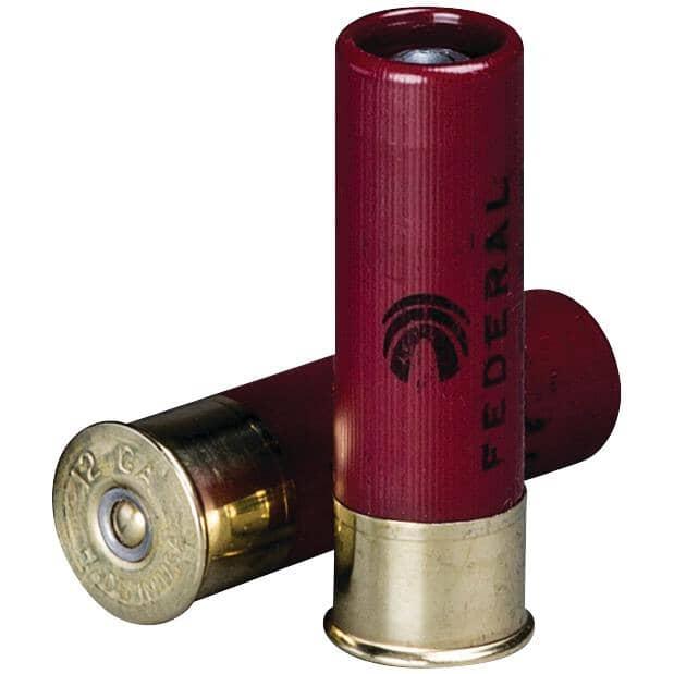 "FEDERAL AMMUNITION:3"" 12 Gauge Rifled Slug Power-Shok Ammunition - 5 Rounds"