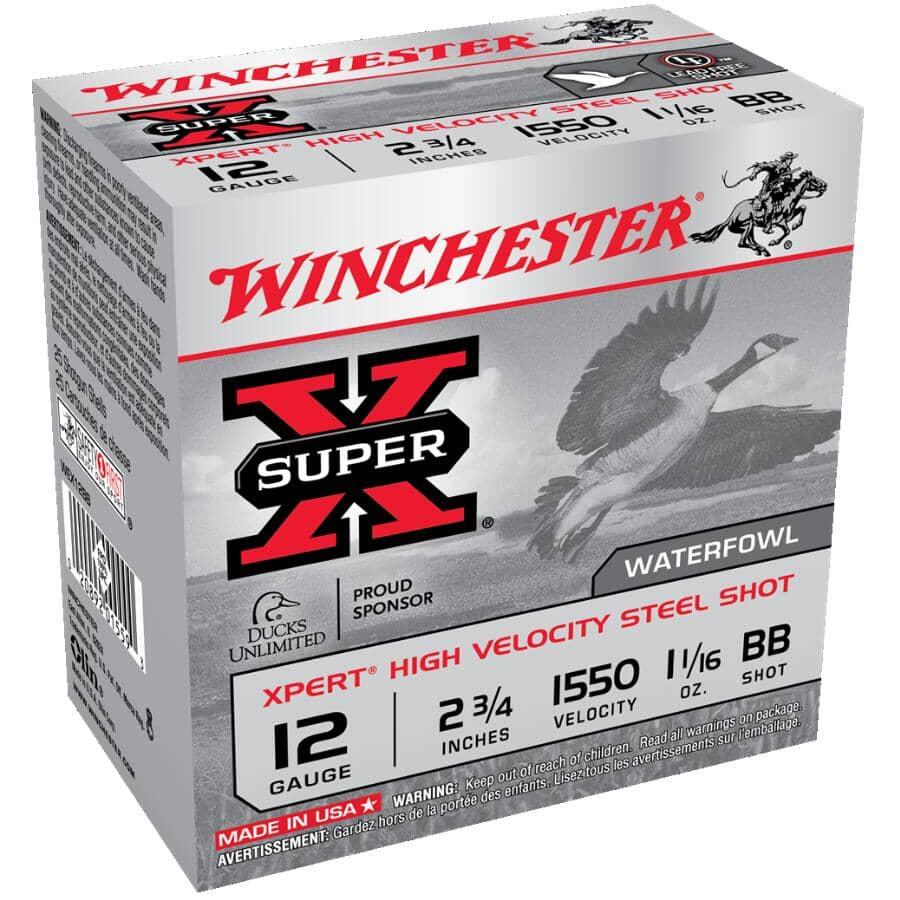 WINCHESTER:Super X Xpert High Velocity Steel Shot Ammunition - 25 Rounds