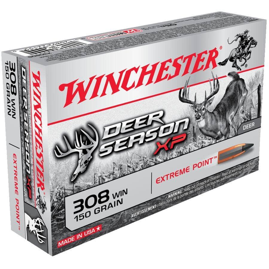 WINCHESTER:Deer Season XP 380 Magnum Ammunition - 20 Rounds