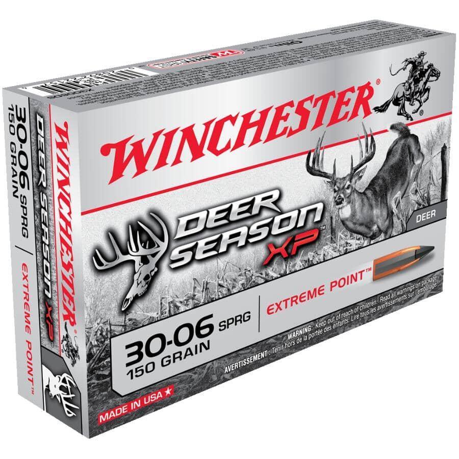 WINCHESTER:Deer Season XP 30-06 Springfield 150 Grain Ammunition - 20 Rounds