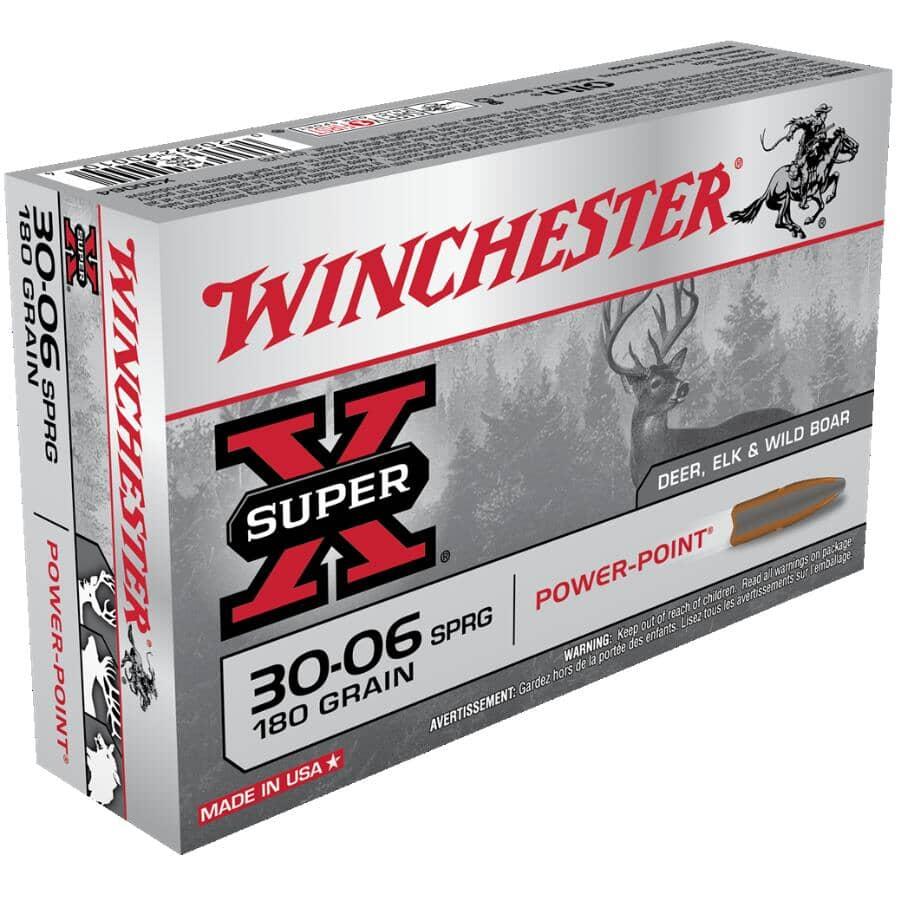 WINCHESTER:Super X 30-06 Springfield 180 Grain Ammunition - 20 Rounds