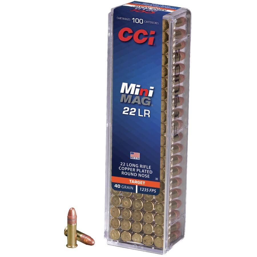 FEDERAL AMMUNITION:22 Long Rifle 40 Grain Mini Mag Ammunition - 100 Rounds