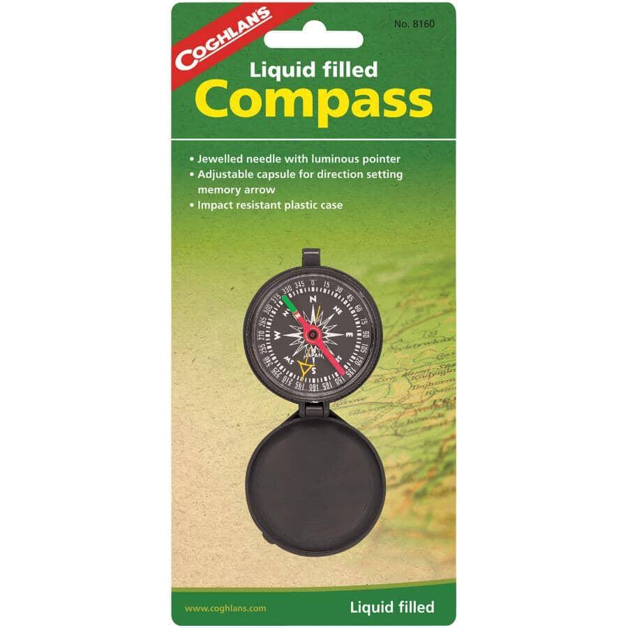 COGHLAN'S:Liquid Filled Pocket Compass