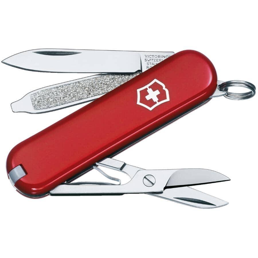 "VICTORINOX SWISS ARMY:2-1/4"" Classic 3 Function Pocket Knife"