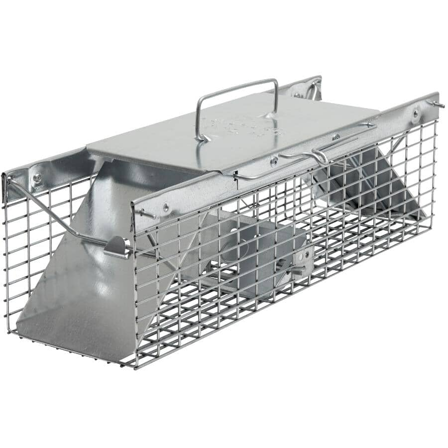 """HAVAHART:17"""" x 5"""" x 5"""" Live Animal Trap - for Squirrels & Small Animals"""