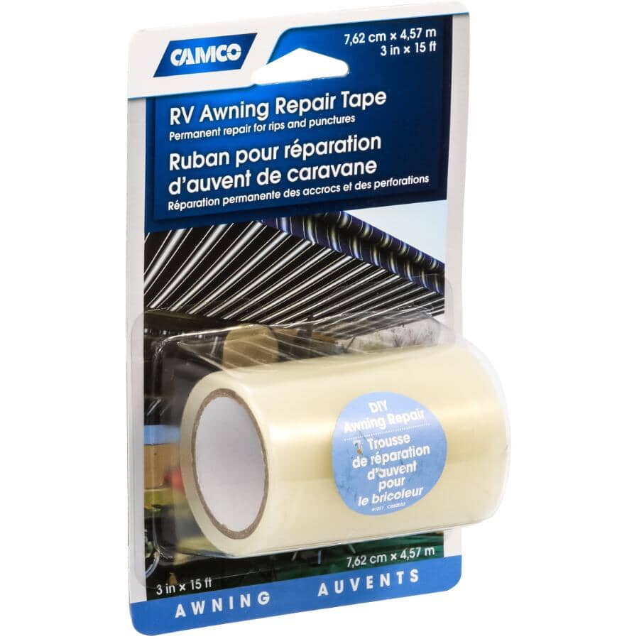 """CAMCO:RV Awning Repair Tape - 3"""" x 15' Roll"""